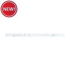 New! Carrara White Marble Threshold