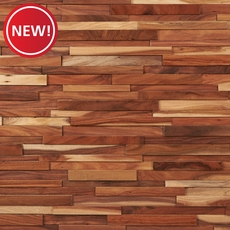 New! Dimensional Small Leaf Acacia Wall Wood Panel