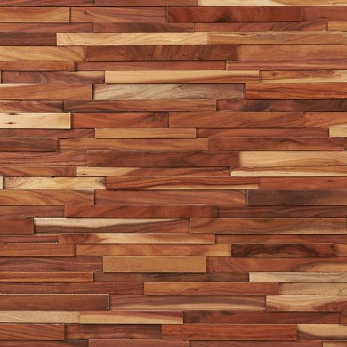 Small Leaf Acacia Hardwood Wall Plank Panel 1 2 X 9 4 5