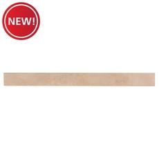 New! Classic Beige Travertine Threshold