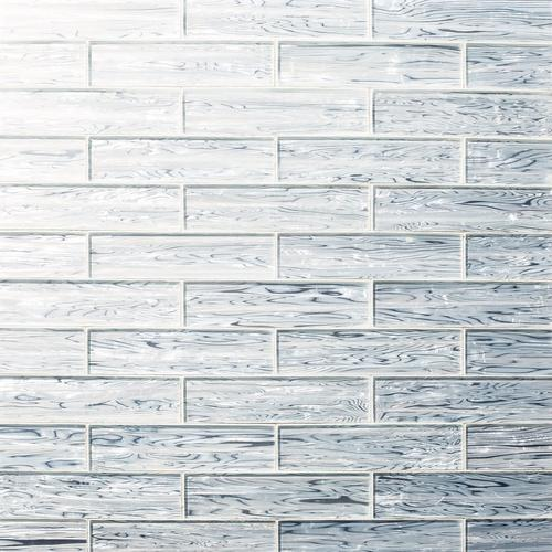 Pearl Polished Glass Tile - 3 x 12 - 100230218   Floor and Decor