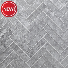 New! Silver Lumiere Glass Wall Tile