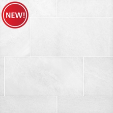 New! Bianco Neve Polished Marble Tile