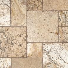Lava Onyx Brushed Travertine Tile