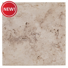 New! Sahara Cross Cut Brushed Travertine Tile