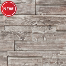 New! Ashen Barn Panel Wood Tile