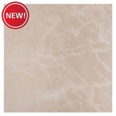 New! Deva Beige Polished Marble Tile