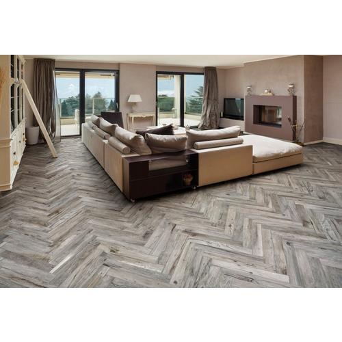 Gunnison Gray Wood Plank Porcelain Tile - 3 x 18 - 100242098   Floor ...