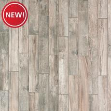 New! Gunnison Gray Wood Plank Porcelain Tile