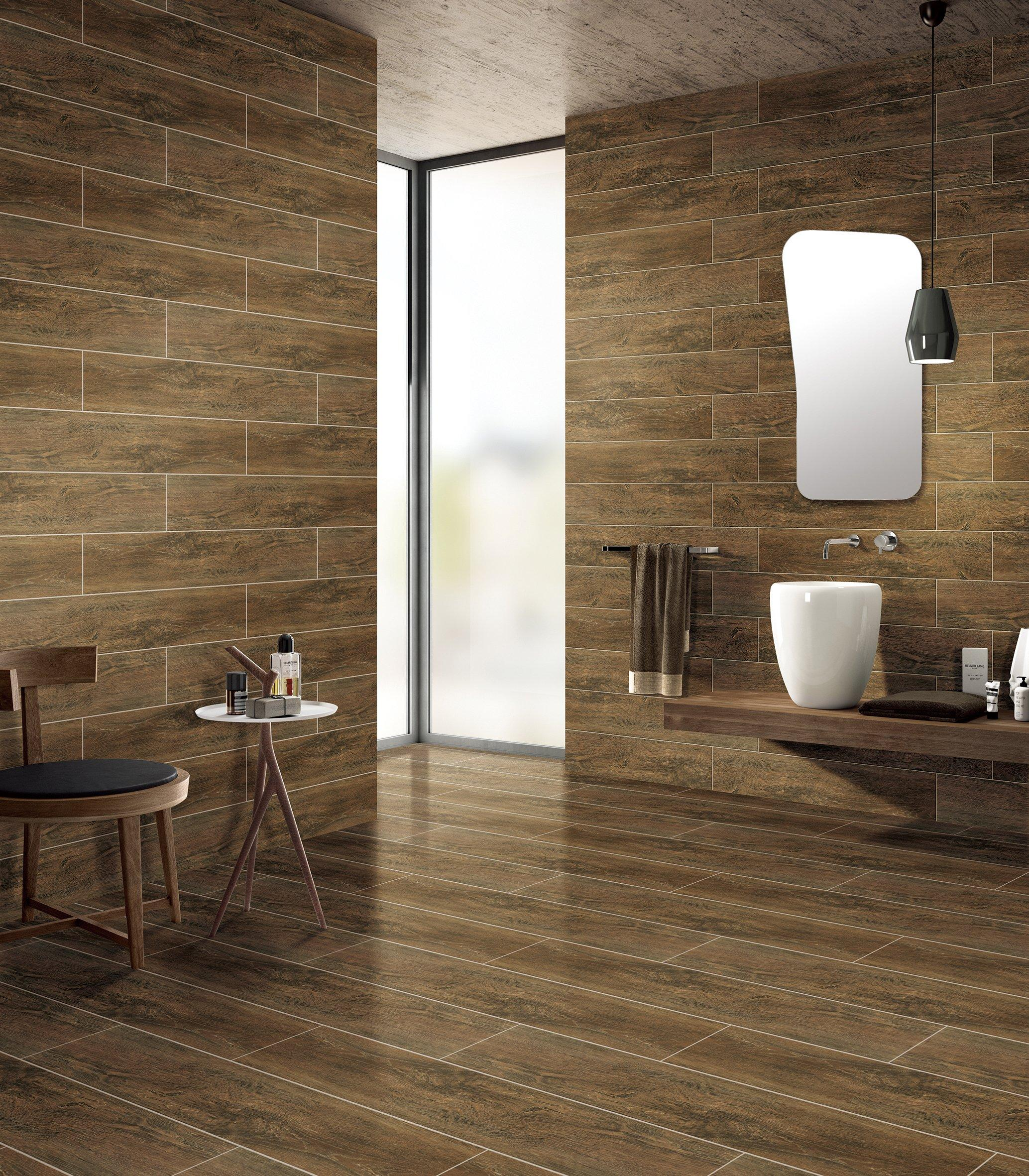 Ceramic tile denali walnut ceramic tile 6in x 36in 100242197 floor and dailygadgetfo Image collections