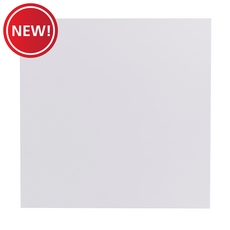 New! Moondance White Porcelain Tile