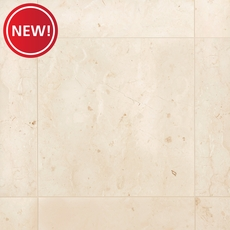 New! Tuscany Cream Semi-Polished Marble Tile