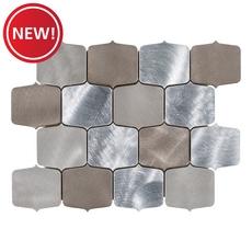 New! Geo Alloy Metal Mosaic