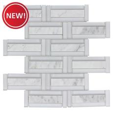 New! Glamar Highline Brick Glass Mosaic