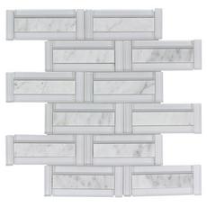 Glamar Highline Brick Glass Mosaic
