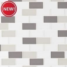 New! Sandhill Brick Glass and Stone Mosaic