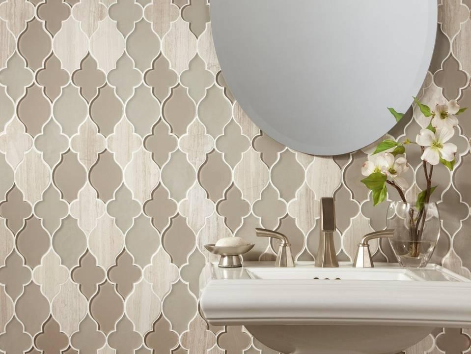 Arabesque Waterjet Mosaic