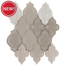 New! Paloma Lantern Glass Mosaic