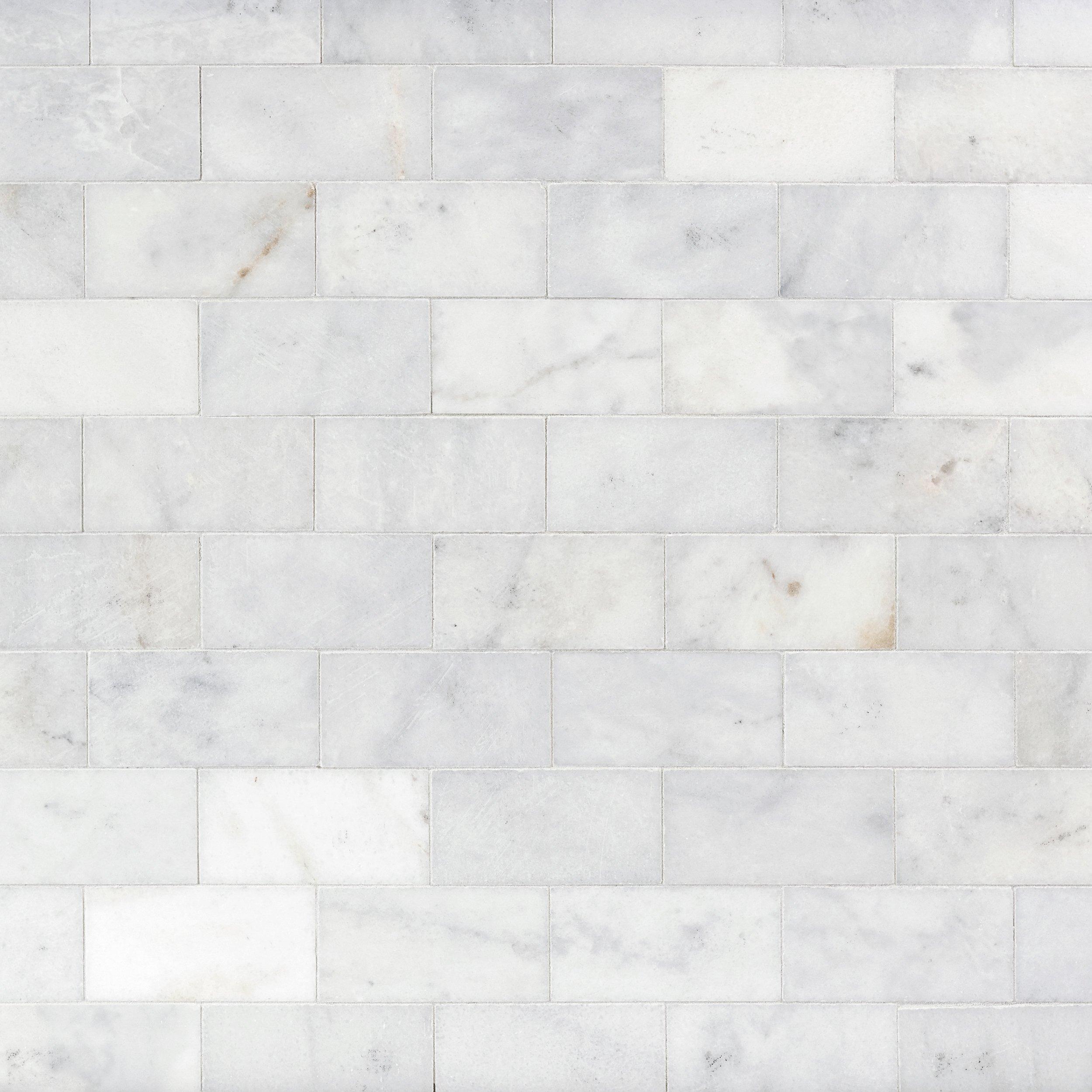 Ocean Honed Marble Tile 3 x 6 100246016 Floor and Decor