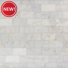 New! Regal White Marble Tile