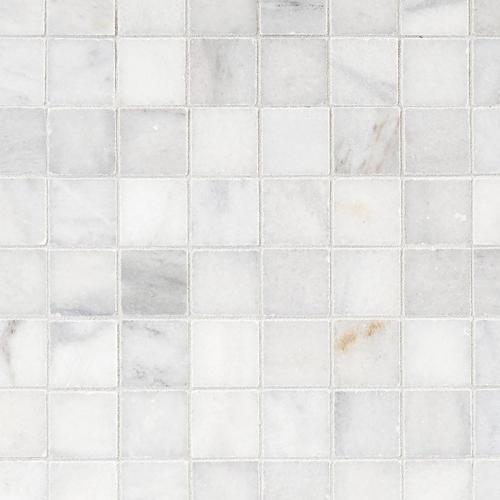 Ocean Honed Marble Mosaic 12 X 12 100246032 Floor And Decor