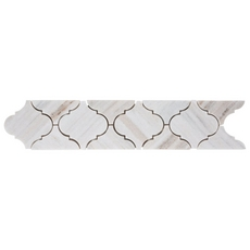 Golden Valley Arabesque Marble Border