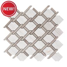 New! Valentino Lattice Marble Mosaic