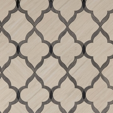 Beacon Hill Arabesque Water Jet Cut Porcelain Mosaic