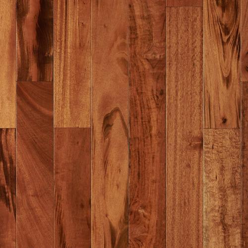 Natural Brazilian Tigerwood Locking Engineered Hardwood 12in X 4
