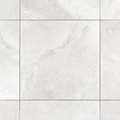 Kodiak White Polished Porcelain Tile 24 X 24 100250489 Floor