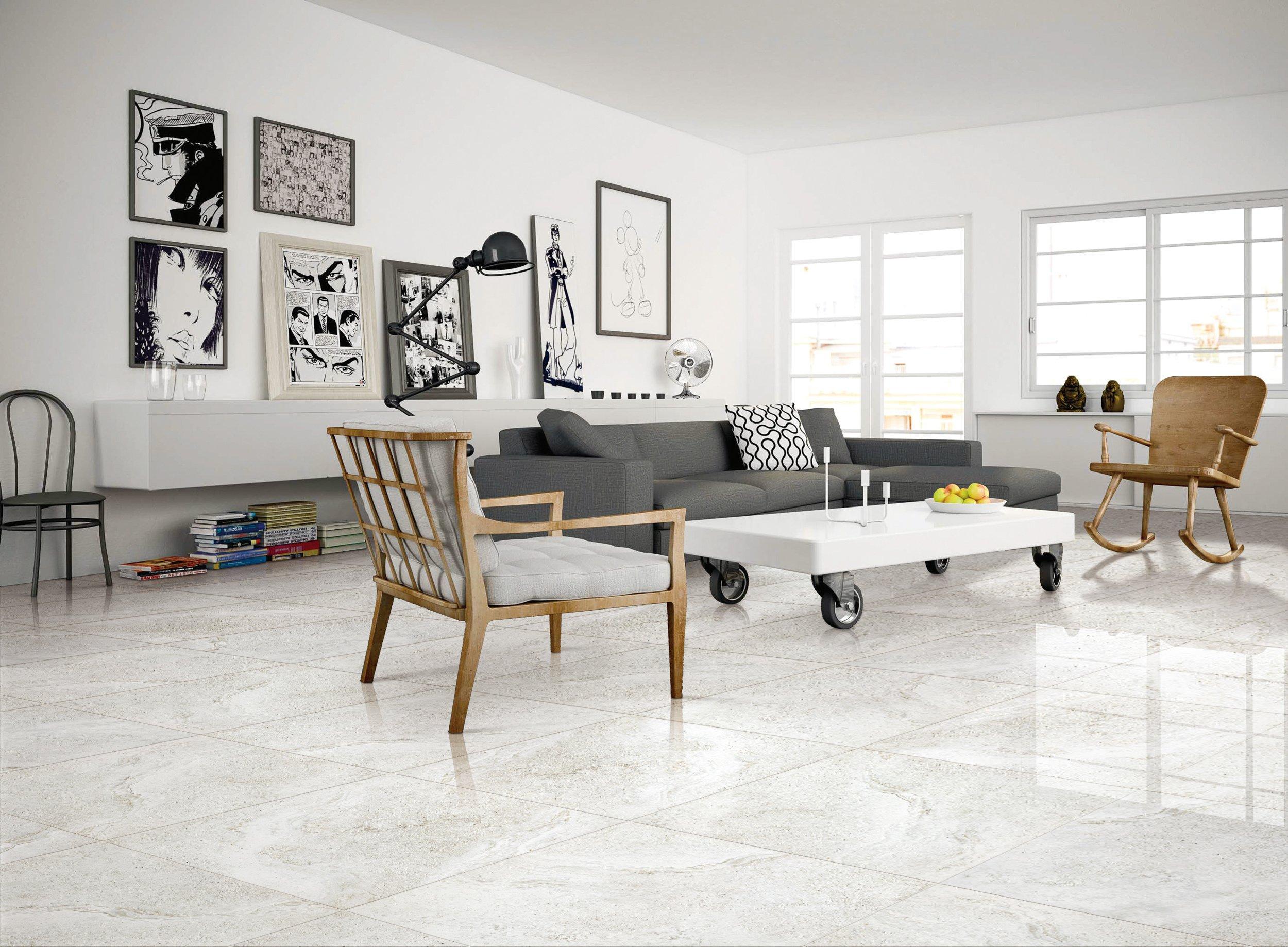 Kodiak White Porcelain Tile