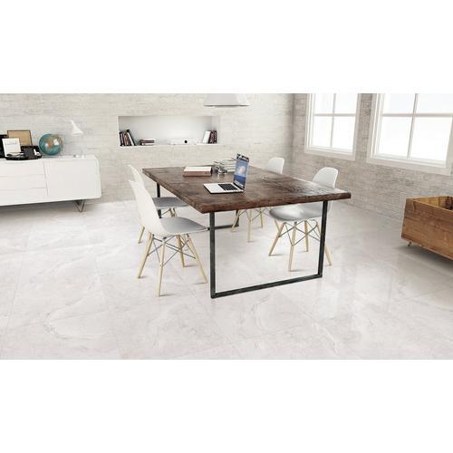 Kodiak White Porcelain Tile 24 X 24 100250489 Floor And Decor