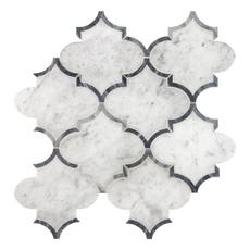 Provence Carrara Marble Mosaic