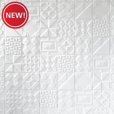 New! Heritage Meringue Deco Ceramic Tile