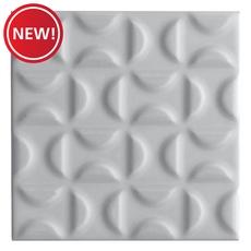 New! Heritage Slate Gray Deco Ceramic Tile