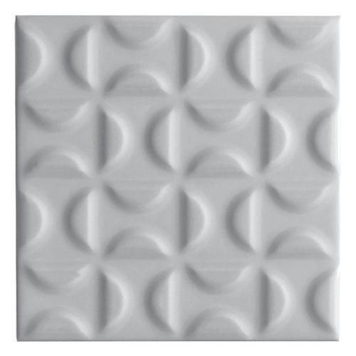 . Heritage Slate Gray Decorative Ceramic Tile   6 x 6   100253541
