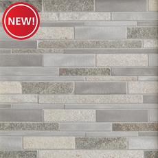 New! Willow Creek II Metallic Mosaic