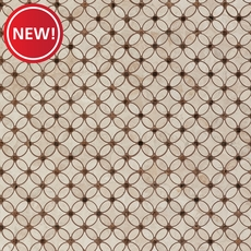 New! Impero Reale Flower Marble Mosaic