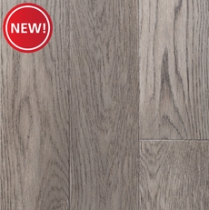 New! Mid Gray Oak Solid Hardwood