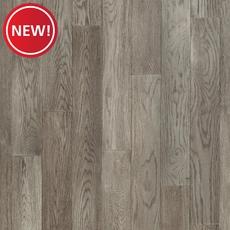 New! Timberclick Mid Gray Oak Solid Hardwood