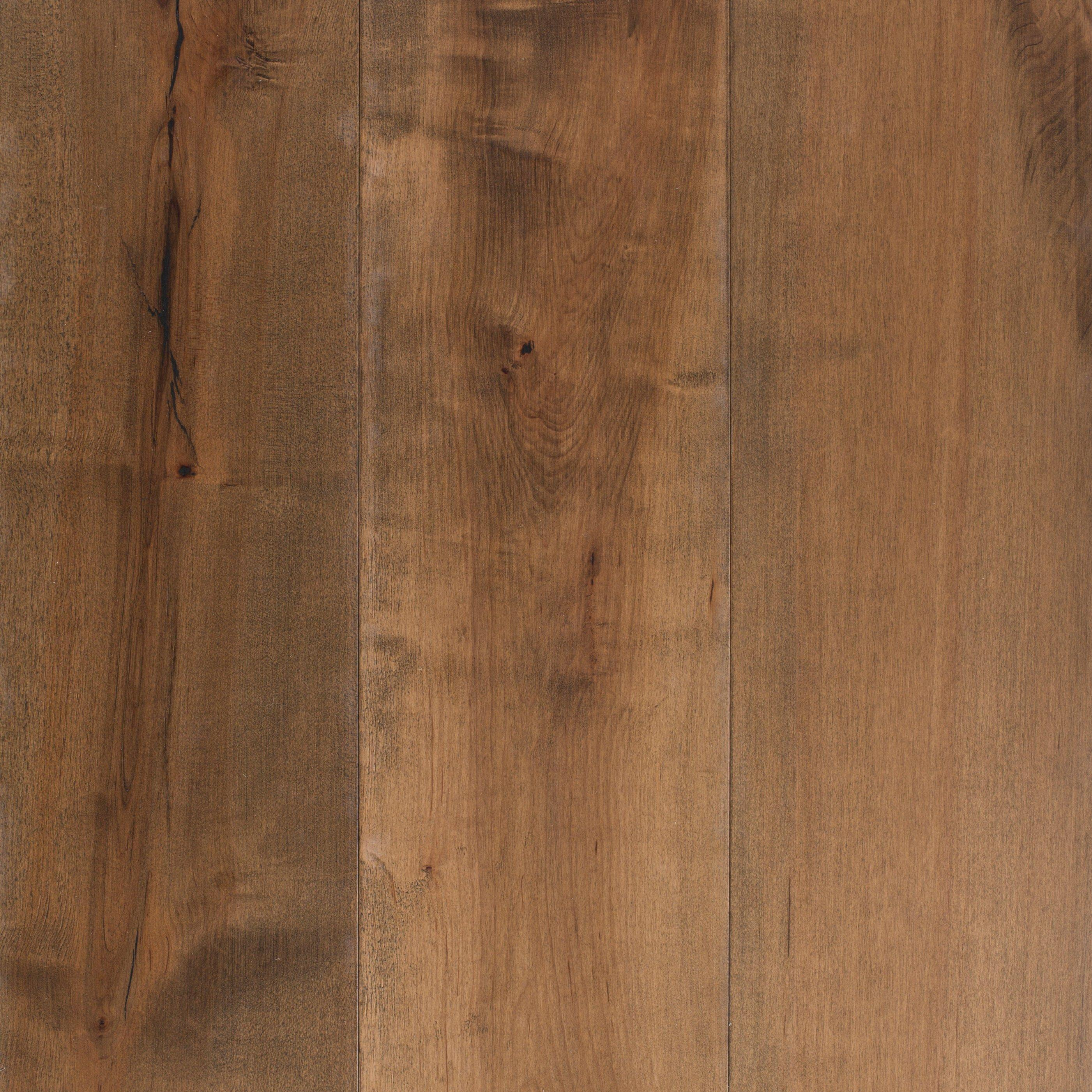 Natural Maple Hand Scraped Engineered Hardwood   1/2in. X 7 1/2in.    100268101   Floor And Decor