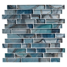 Harbour Island Linear Glass Mosaic