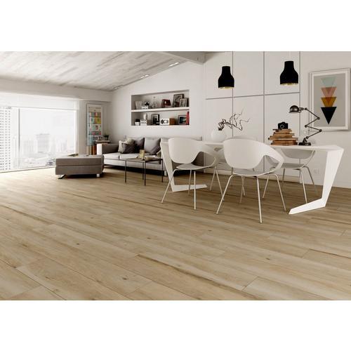 Truewood Cream Wood Plank Porcelain Tile 10 X 47 100269000