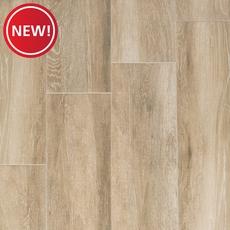 New! Truewood Cream Wood Plank Porcelain Tile