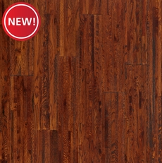 New! Cognac Oak Solid Hardwood