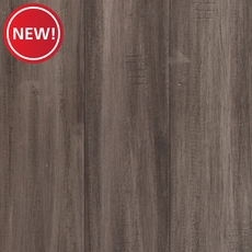 New! Eco Forest Water Resistant Pewter Hand Scraped Engineered Bamboo
