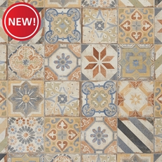New! San Juan Deco Porcelain Tile