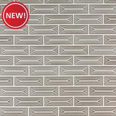 New! Villa Heirloom Pewter Porcelain Tile