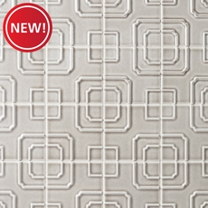 New! Villa Heirloom Pewter Porcelain Tile