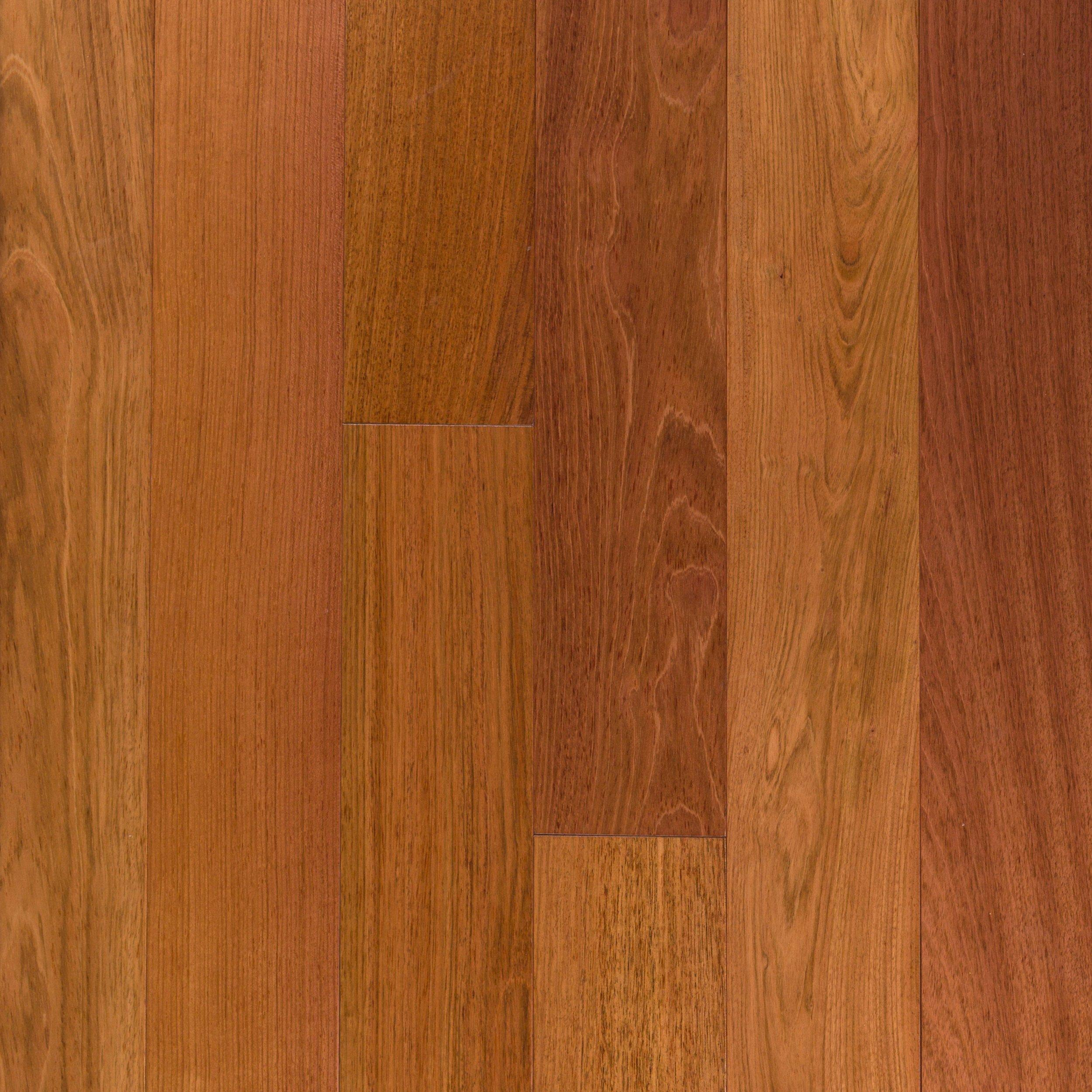 Natural Brazilian Cherry Smooth Solid Hardwood   3/4in. X 5 1/2in.    100301563 | Floor And Decor